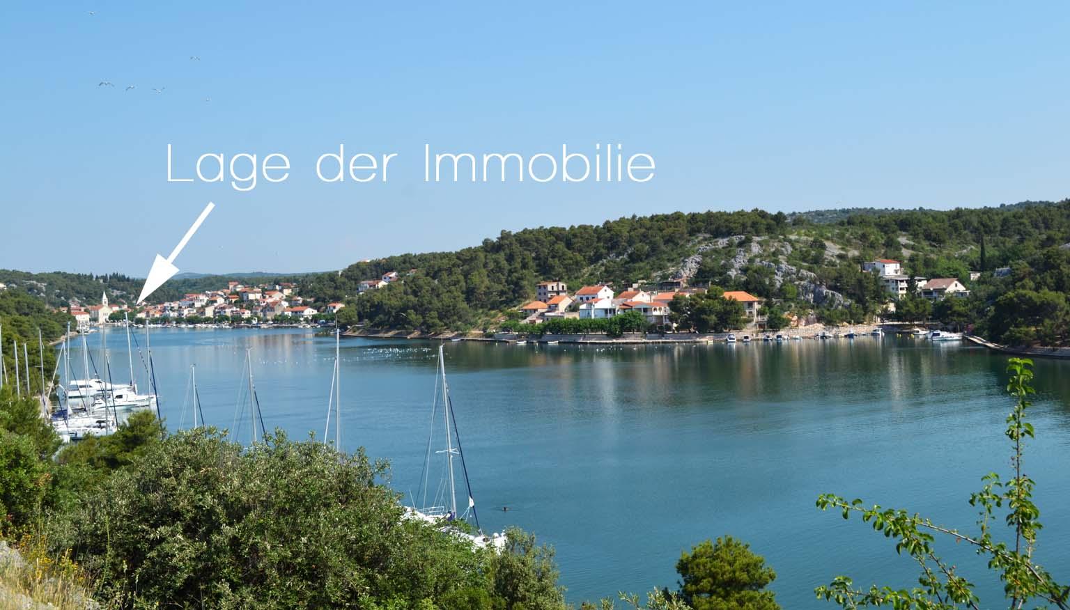 Immobilie erste Reihe Meer Kroatien